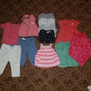 Baby girl spring/summer lot